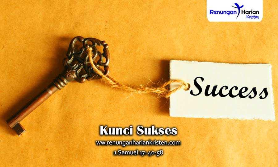 Renungan-Harian-Remaja-1-Samuel-17-40-58-Kunci-Sukses