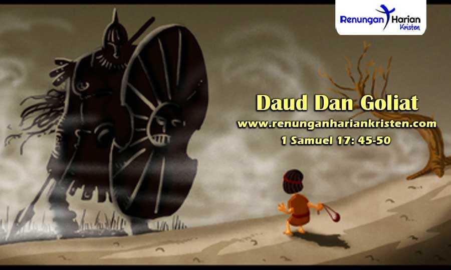 Renungan-Harian-Anak-1-Samuel-17-45-50-Daud-Dan-Goliat