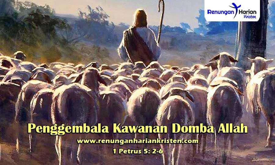 Renungan-Harian-Anak-1-Petrus-5-2-6-Penggembala-Kawanan-Domba-Allah