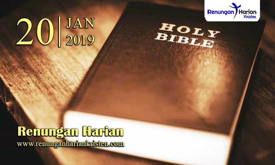 Renungan-Harian-20-Januari-2019