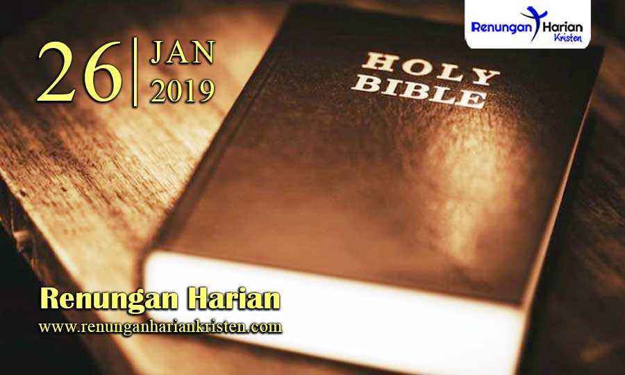 Renungan-Harian-26-Januari-2019