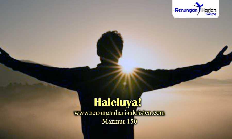 Renungan-Harian-Sekolah-Minggu-Mazmur-150-Haleluya!