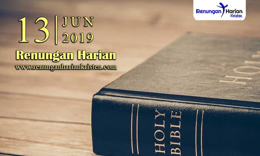 Renungan-Harian-13-Juni-2019