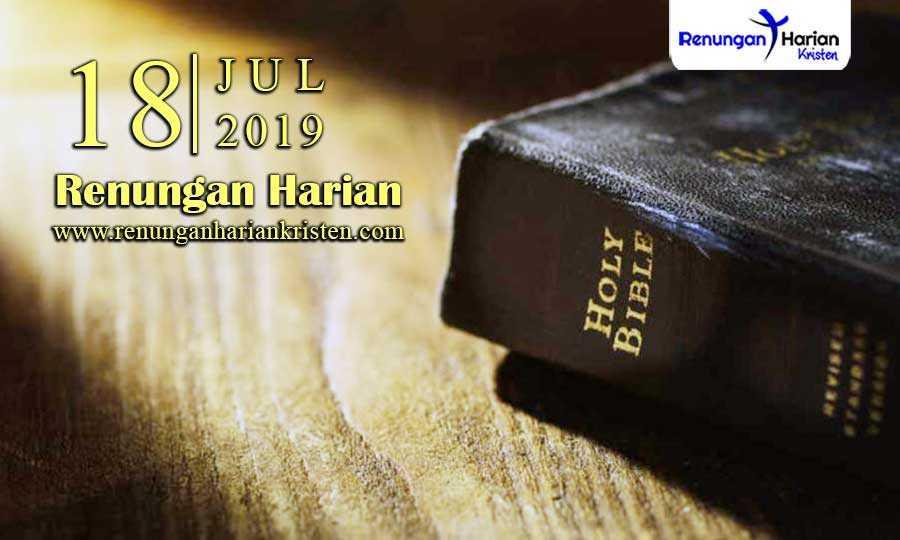 Renungan-Harian-18-Juli-2019