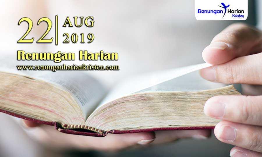 Renungan-Harian-22-Agustus-2019