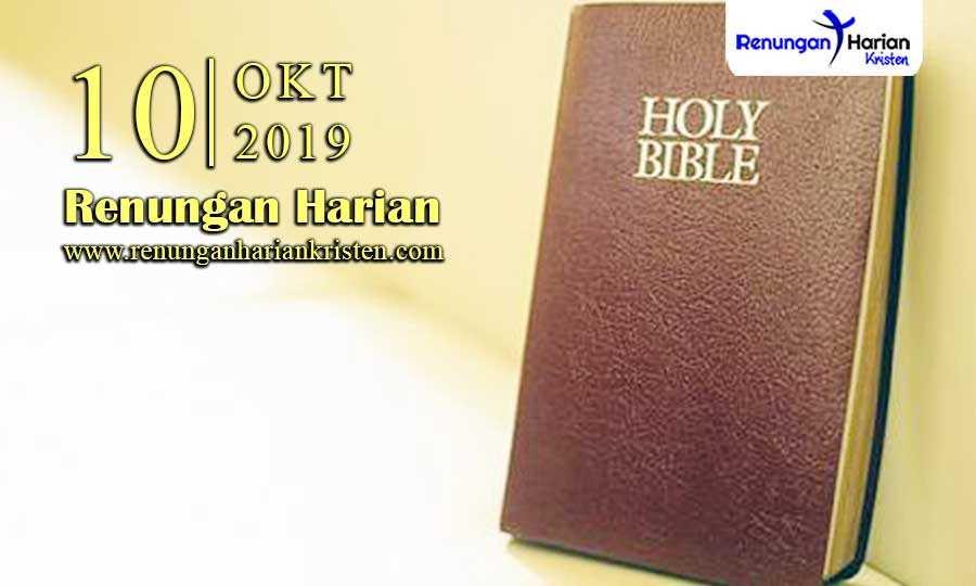 Renungan-Harian-10-Oktober-2019