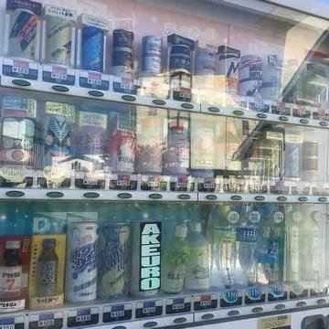 浪江町内の自販機