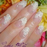 10+ Stylish Nail Art Themes for Wedding Day 2016 2017