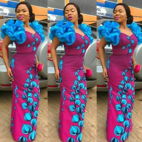 Long Gown Ankara