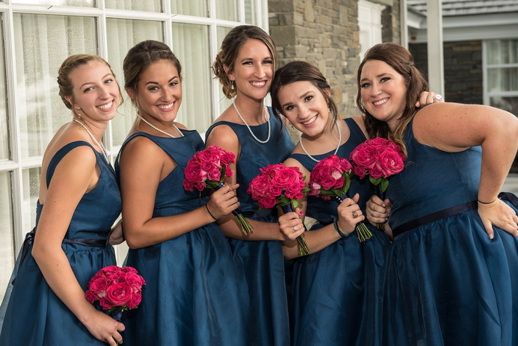 Albany Country Club Wedding - Renzi Photography - Bridemaids