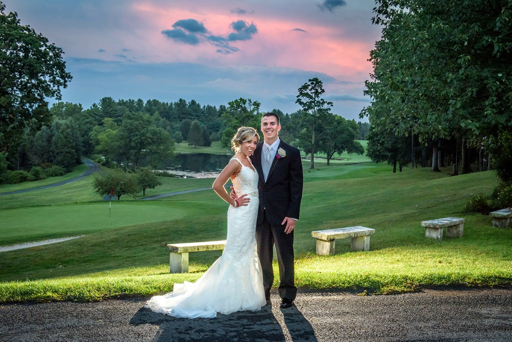 Albany Country Club Wedding - Renzi Photography - Sunset