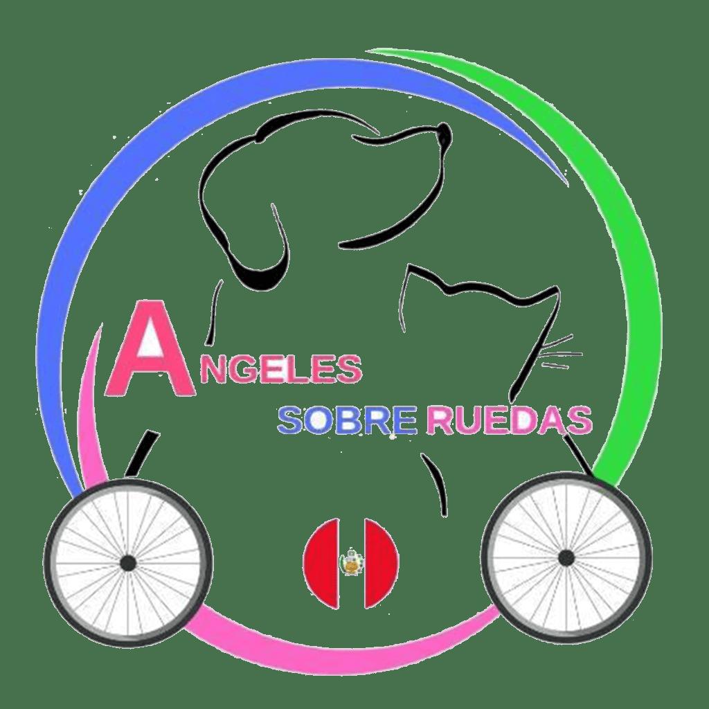Angeles sobre ruedas logo