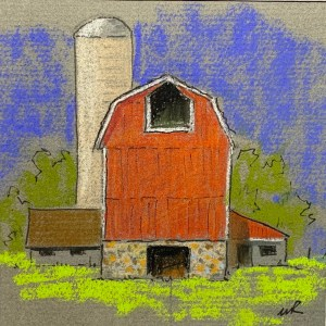 Another Red Barn 4x4 m8x8 60