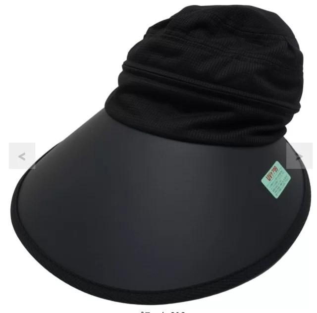 キャロウェイのつば広のゴルフ帽子