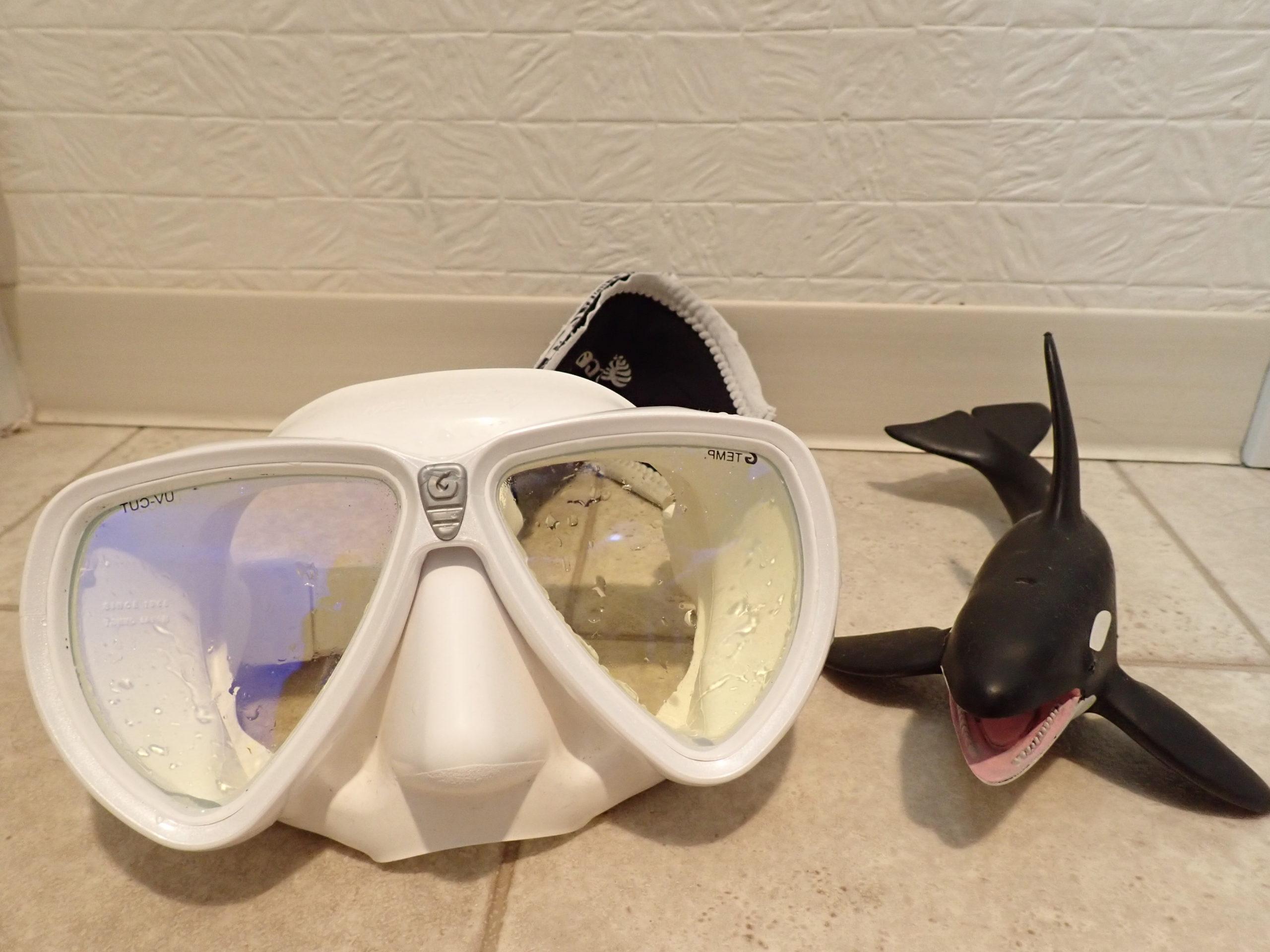 ダイビングマスク お手入れ