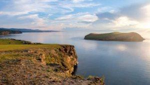 озеро море природа