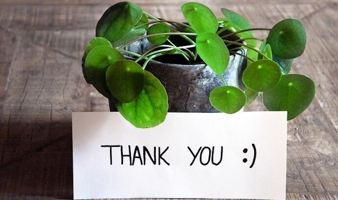 「ありがとう」の気持ち