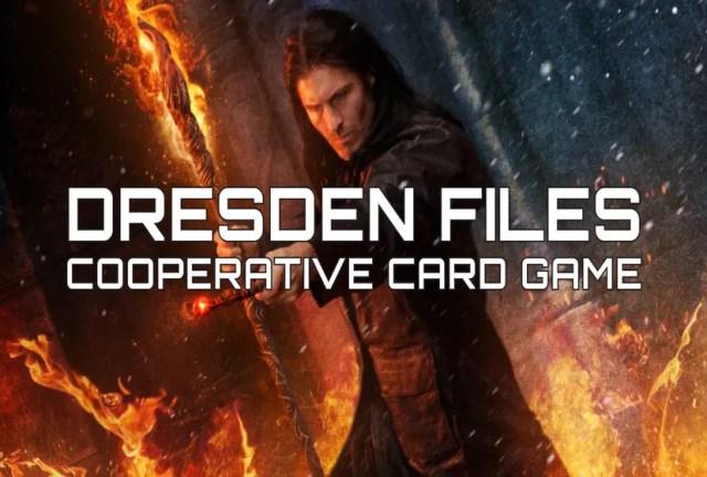 Dresden Files Cooperative Card Game Repack-Games
