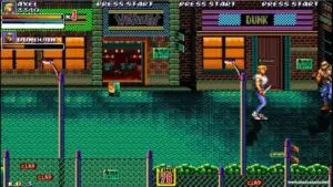 Streets of Rage 2X Free Download Repack-Games