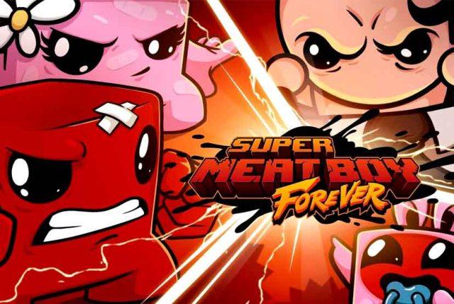 Super Meat Boy Forever Free Download Torrent Repack-Games