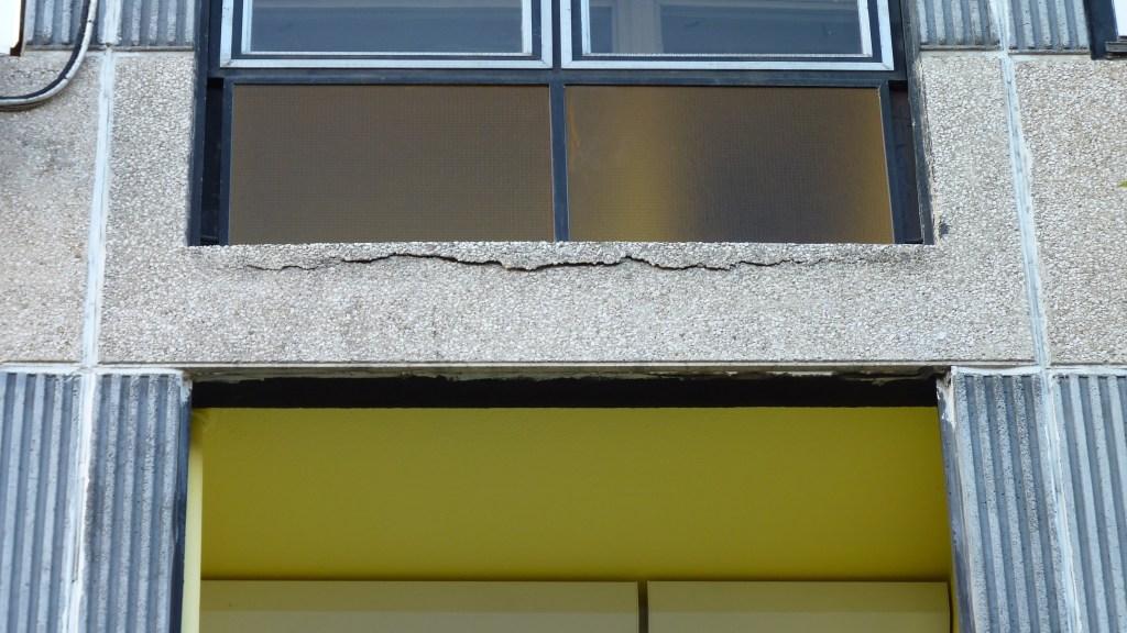 rope access concrete repair