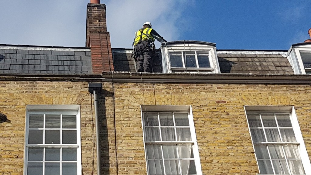 rope access building maintenance