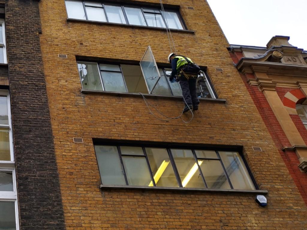 rope access residential glazing repair