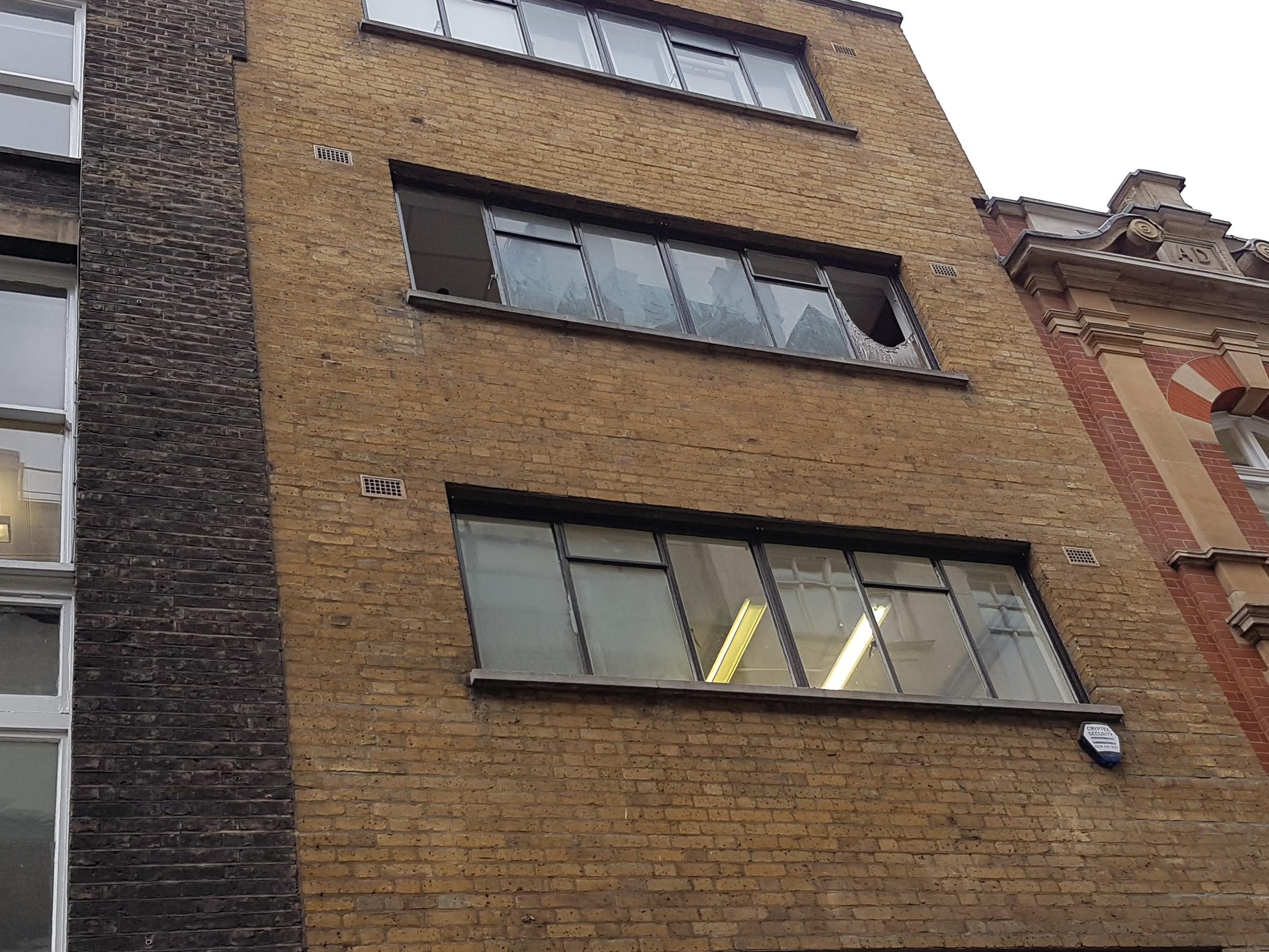 abseiling residential glazing repair