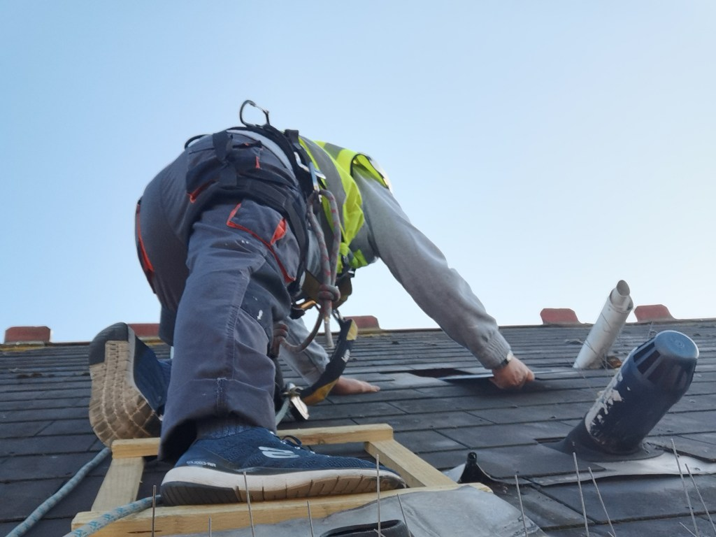 high level roofing repairs