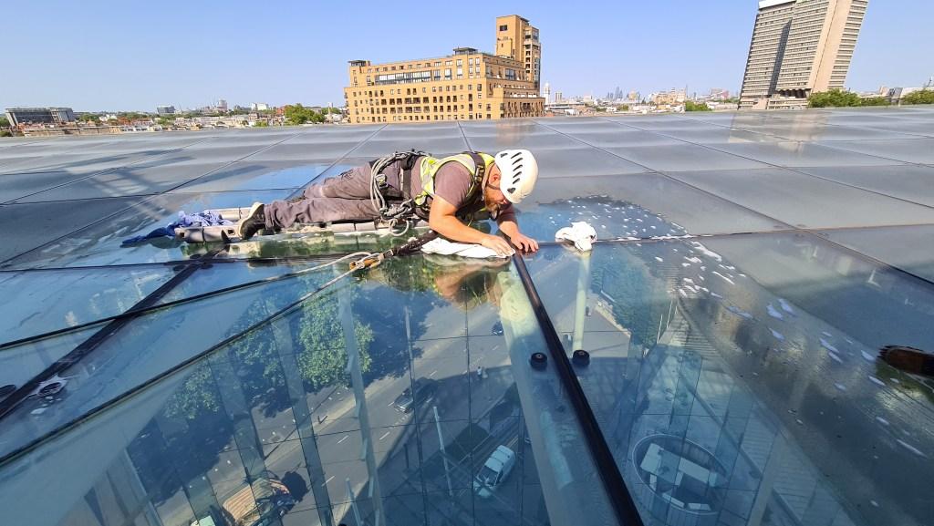 atrium leak inspection and repair