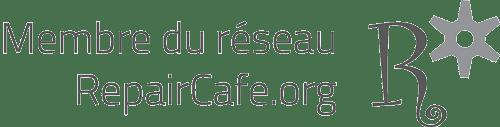 """Logo """"Membre du réseau RepairCafe.org"""""""