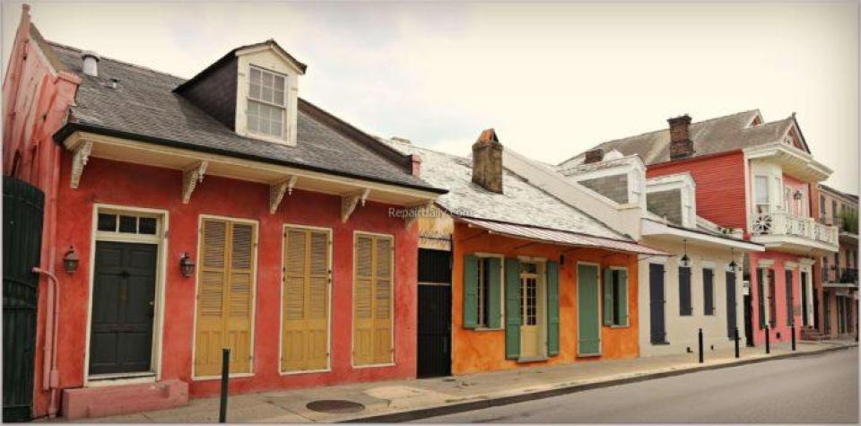 French Colonial Structures
