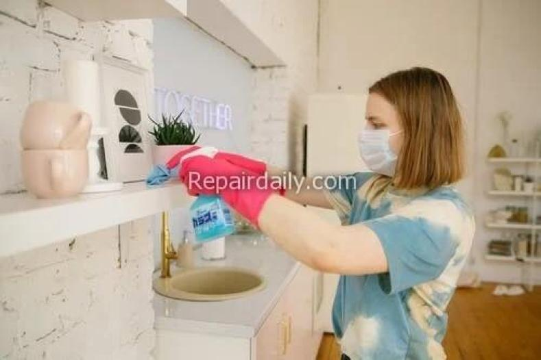 cleaning and sanitizing work place