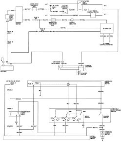honda accord alternator wiring diagram honda image 1996 honda accord alternator wiring diagram wiring diagrams on honda accord alternator wiring diagram