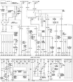 1998 Honda Accord Under Hood Fuse Box Diagram
