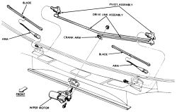 | Repair Guides | Windshield Wipers And Washers | Wiper Linkage | AutoZone