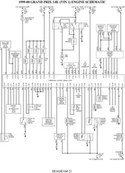 radio wire diagram 98 pontiac grand am html