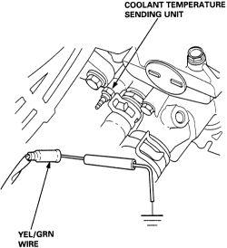 | Repair Guides | Sending Units | Engine Coolant