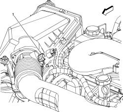   Repair Guides   Component Locations   Mass Air Flow Sensor   AutoZone