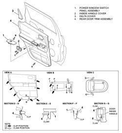 | Repair Guides | Interior | Door Glass & Regulator