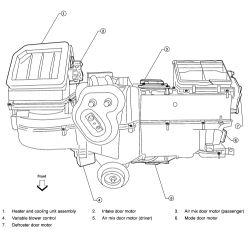 | Repair Guides | Blend Door Actuator | Removal