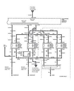 | Repair Guides | Power Door Locks (2000) | Power Door Lock Wiring Diagram & Troubleshooting