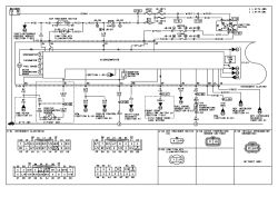 | Repair Guides | Instrument Cluster (2000) | Instrument Cluster Wiring Diagram (a) | AutoZone