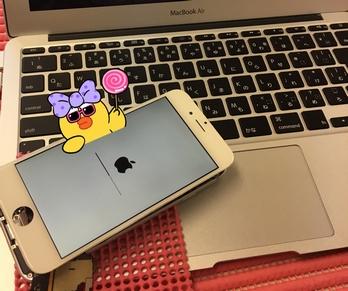 千葉県富里市より、iPhone6が起動出来ない症状のご依頼