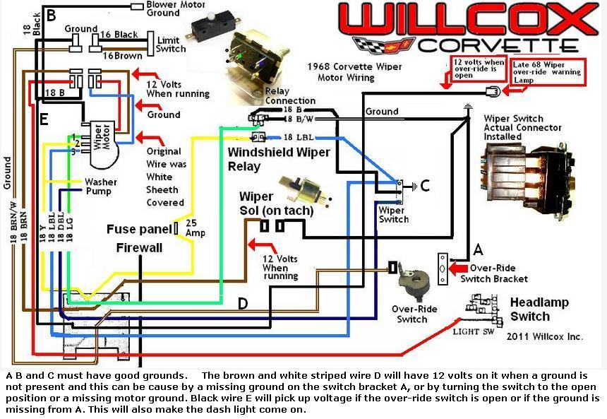 1968 corvette wiper motor updated schematic 1968 1968 rev?resized665%2C459 1975 corvette wiring diagram efcaviation com Chevy Truck Wiring Diagram at fashall.co