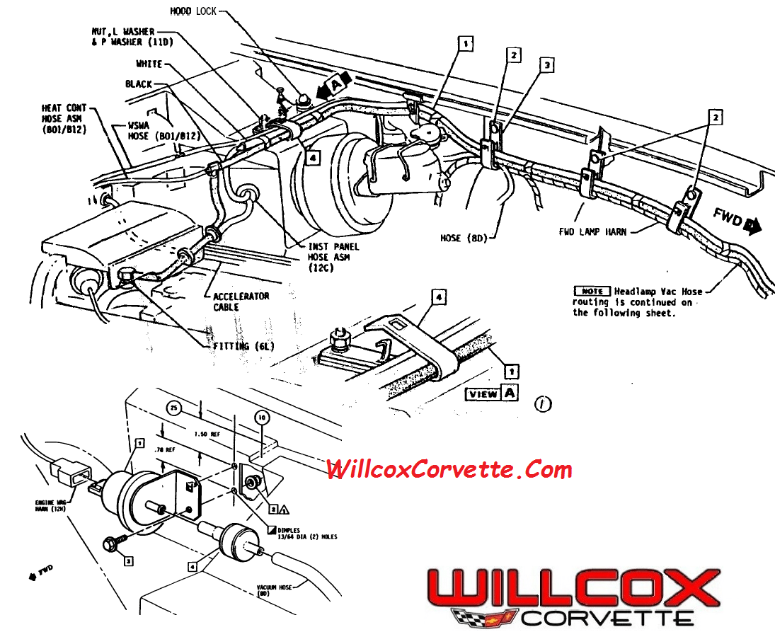 Corvette C5 Drive Belt Diagram