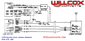 78 Which wire for power antenna?  CorvetteForum