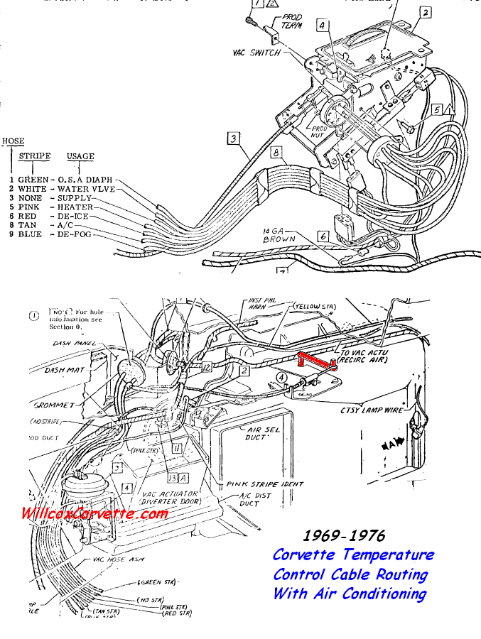 c3 corvette emission system diagram