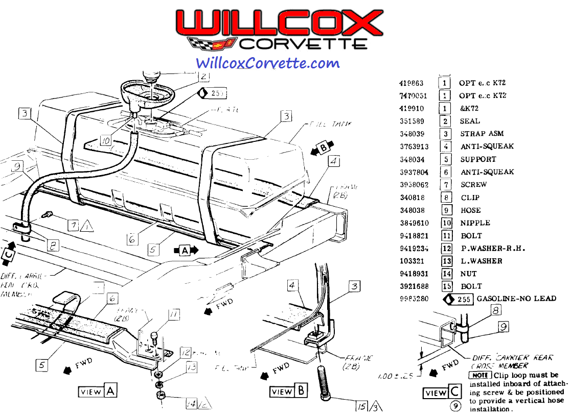 C3 Corvette Engine Wiring Diagram