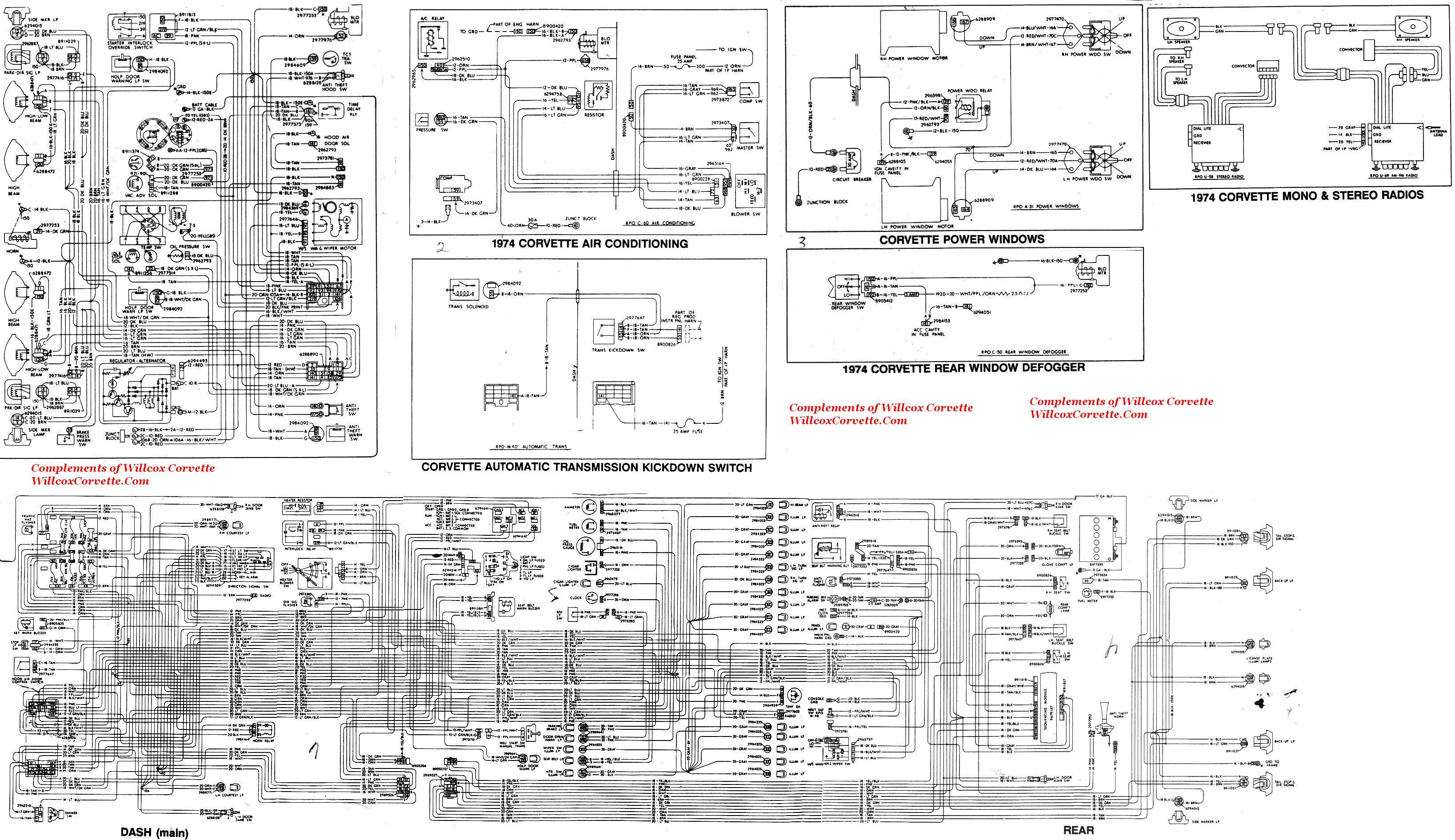 Corvette Factory Wiring Schematic